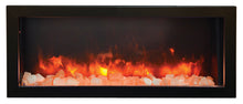 Amantii 40 Inch Deep Electric Fireplace – Indoor / Outdoor - BI-40-DEEP
