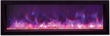 Amantii 88 Inch Electric Fireplace – Indoor / Outdoor - BI-88-SLIM