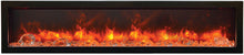 Amantii 72 Inch Electric Fireplace – Indoor / Outdoor - BI-72-SLIM