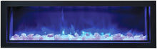 Amantii 60 Inch Electric Fireplace – Indoor / Outdoor - BI-60-SLIM