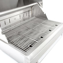 Blaze 32-Inch Stainless Steel Freestanding Charcoal Grill With Adjustable Charcoal Tray - BLZ-4-CHAR-CART