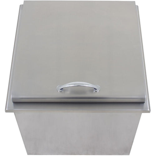 Blaze 22-Inch Stainless Steel Ice Bin Cooler / Wine Chiller - BLZ-ICEB-WH