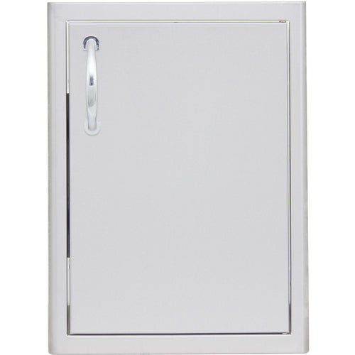 Blaze 18-Inch Right Hinged Single Access Door - Vertical BLZ-SV-1420-R - The Garden District