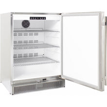 Blaze 24-Inch Outdoor Compact Refrigerator - Open Angled View