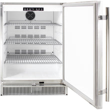 Blaze 24-Inch Outdoor Compact Refrigerator - Open View