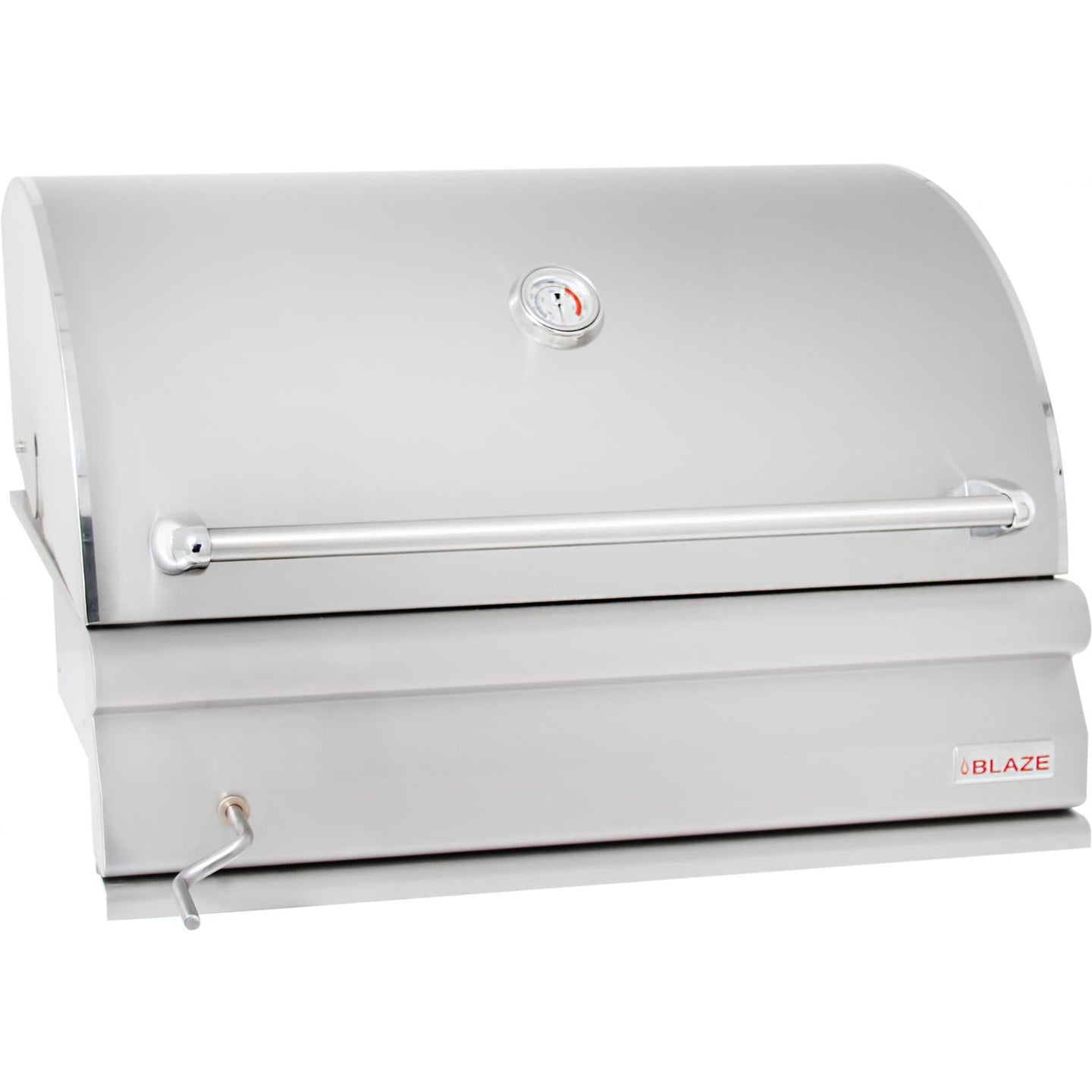 Blaze 32-Inch Built-In Stainless Steel Charcoal Grill - The Garden District