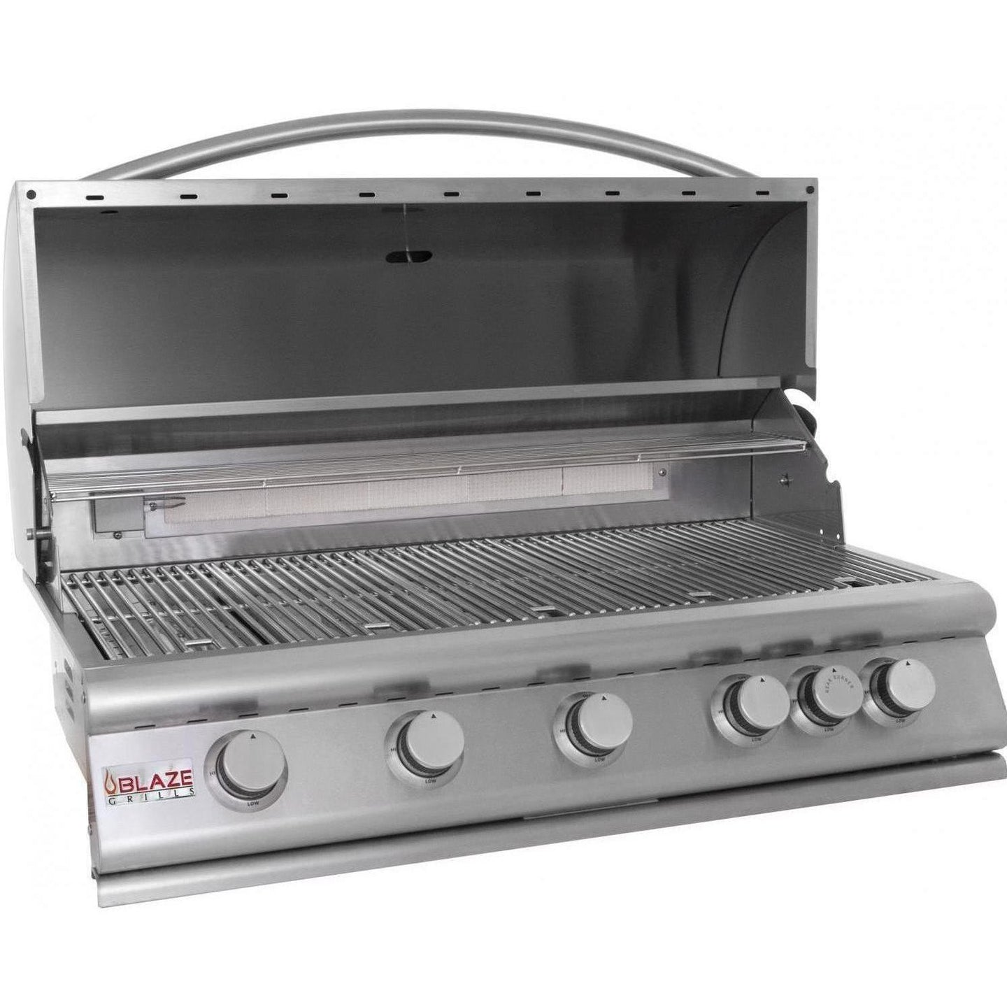 Blaze 40-Inch 5-Burner Built-In Gas Grill With Rear Infrared Burner - BLZ-5LTE2-LP/NG