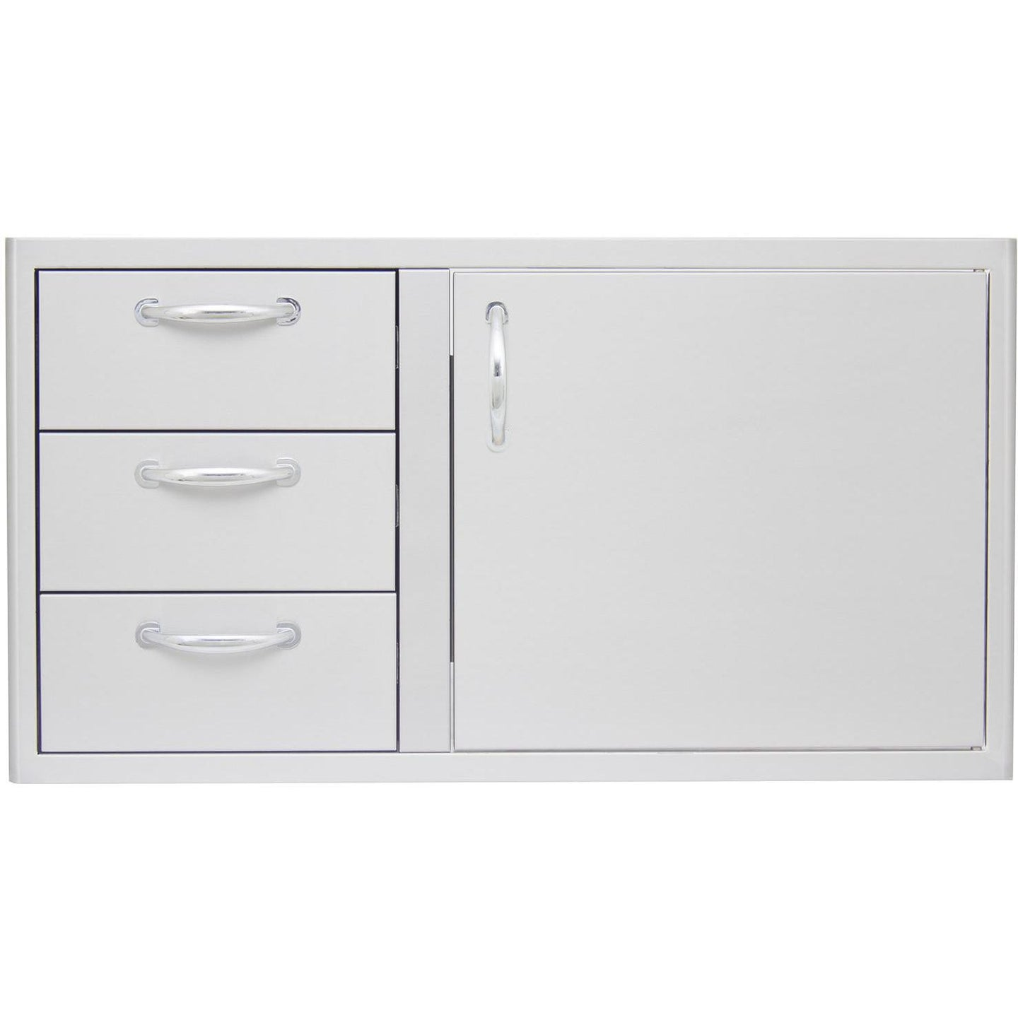 Blaze 39-Inch Access Door & Triple Drawer Combo - BLZ-DDC-39-R
