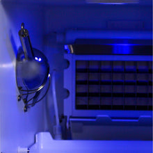 Blaze 50 Lb. 15 in Outdoor Ice Maker - Cool Blue LED Lighting