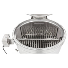 Blaze Kamado Rotisserie Kit With Charcoal Basket -  (Shown with Blaze Kamado -Not included)