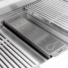 Blaze Professional Stainless Steel Smoker Box - Installed