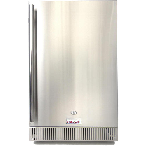 Blaze 20-Inch 4.1 Cu. Ft. Outdoor Stainless Steel Compact Refrigerator - The Garden District