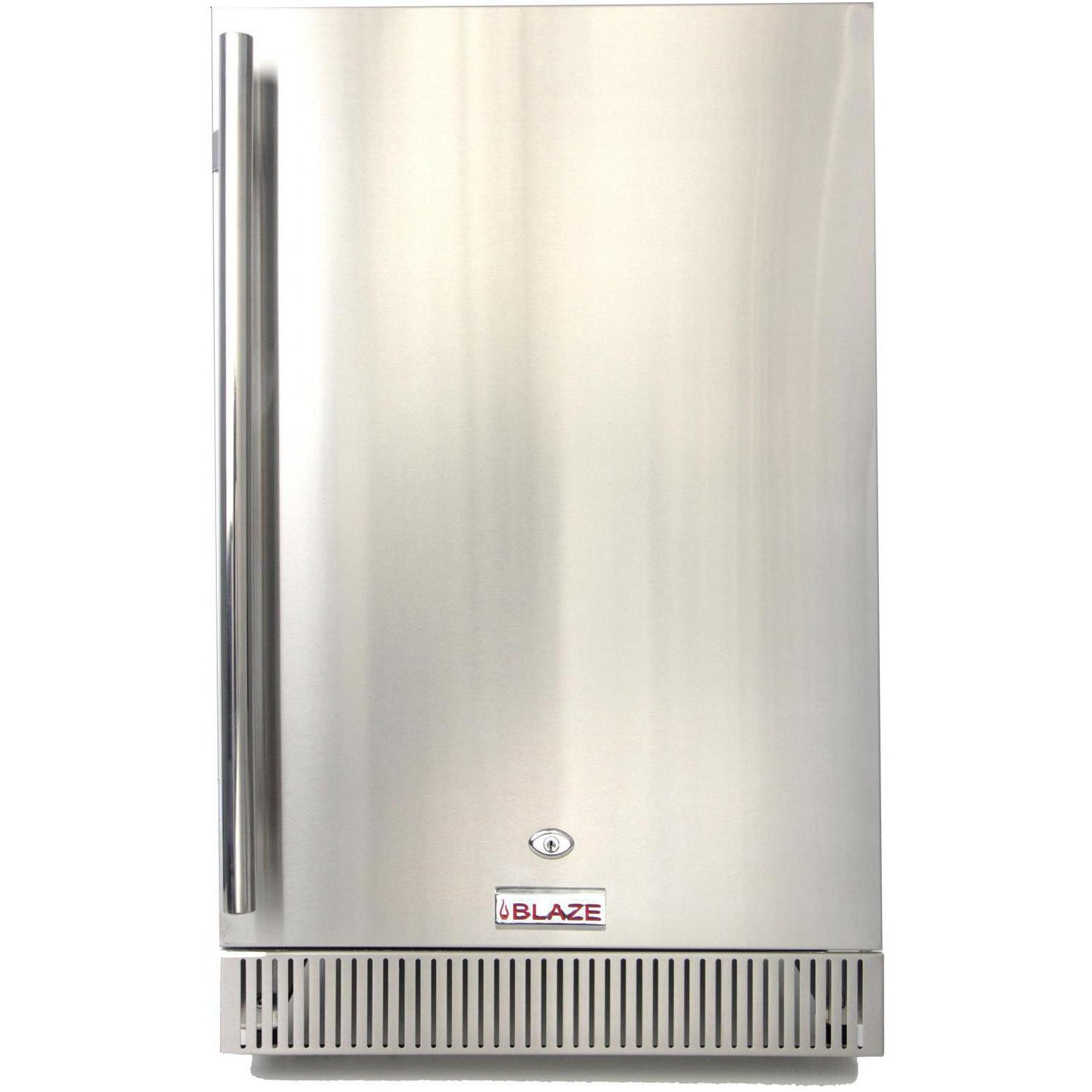 Blaze 20-Inch 4.1 Cu. Ft. Outdoor Stainless Steel Compact Refrigerator - UL Approved - BLZ-SSRF-40DH