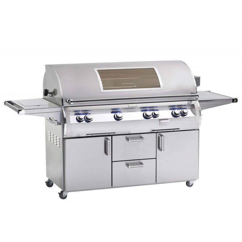 Fire Magic Echelon Diamond E1060s 48-Inch Freestanding Grill W/ Analog Thermometer And Single Side Burner - E1060s-4EAN/P-62