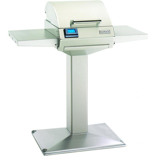 Fire Magic E250s Electric Grill On Patio Post - E250s-1Z1E-P6