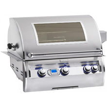 Fire Magic Echelon Diamond E660i 30-Inch Propane Gas Built-In Grill With One Infrared Burner - E660i-4L1P/ With Magic Viewing One - E660i-4L1P-W
