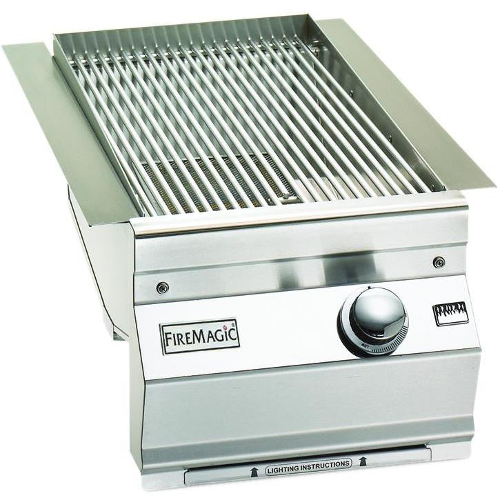 Fire Magic Aurora Built-In Propane Gas Single Searing Station / Side Burner - 3287L-1P - The Garden District