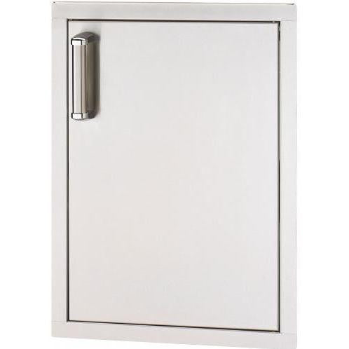Fire Magic Premium Flush 17-Inch Left-Hinged Single Access Door - Vertical - 53924SC-L - The Garden District