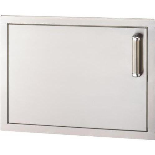 Fire Magic Premium Flush 20-Inch Left-Hinged Single Access Door - Horizontal - 53914SC-L - The Garden District