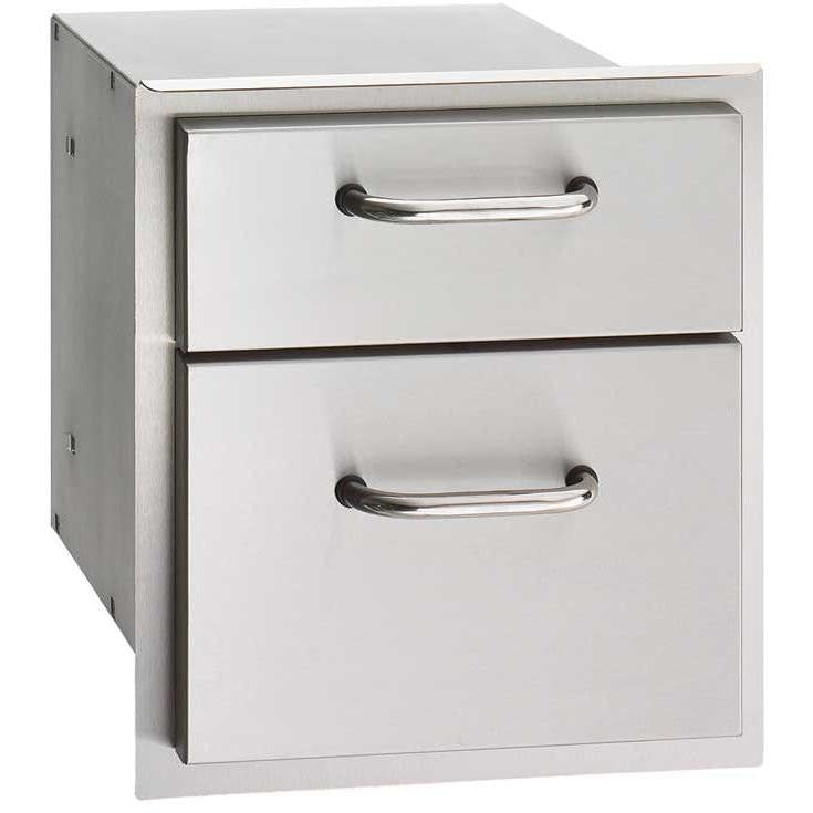 Fire Magic Select 14-Inch Double Access Drawer - 33802 - The Garden District