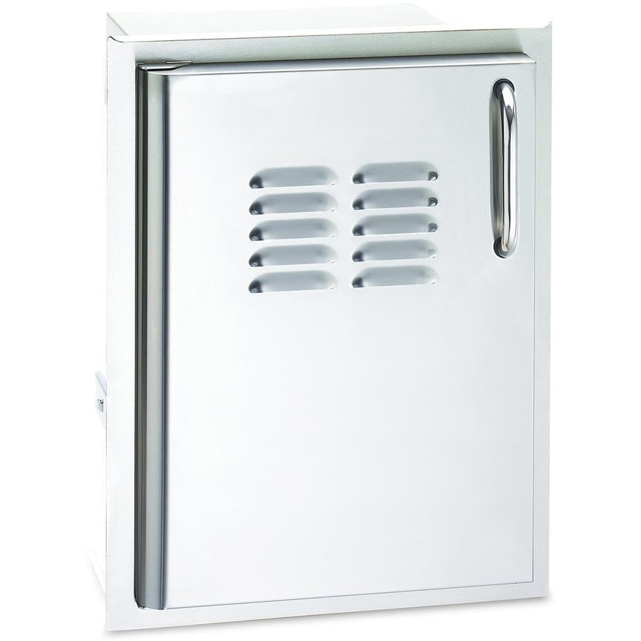 Fire Magic Select 14-Inch Left-Hinged Single Access Door With Propane Tank Storage - 33820-TSL