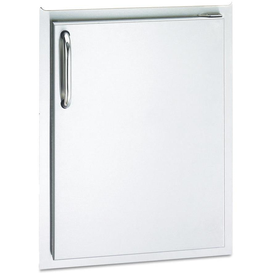 Fire Magic Select 14-Inch Right-Hinged Single Access Door - Vertical - 33920-SR - The Garden District