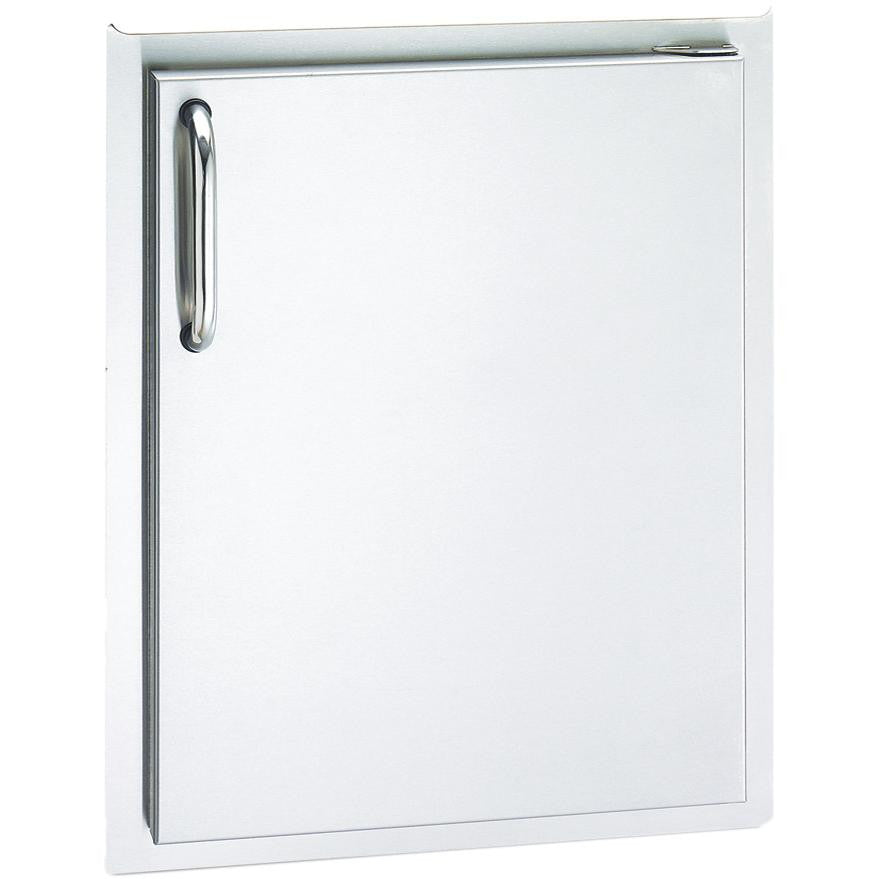Fire Magic Select 17-Inch Right-Hinged Single Access Door - Vertical - 33924-SR - The Garden District