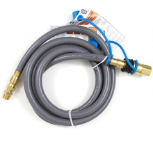 Blaze 10 Ft. Natural Gas Hose W/ Quick Disconnect - The Garden District