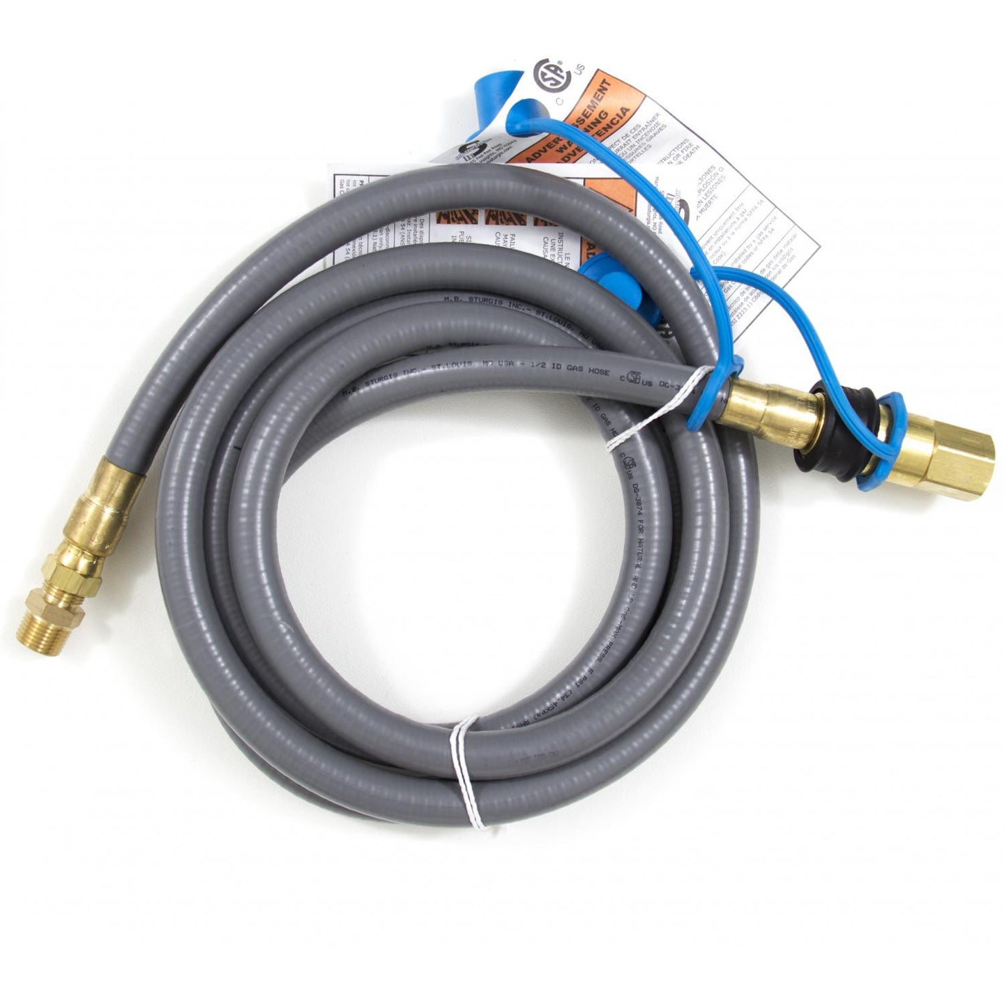 Blaze 10 Ft. Natural Gas Hose W/ Quick Disconnect