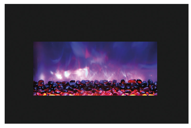 Excellent Amantii Medium Insert 30 Inch Electric Fireplace Insert 30 4026 Bg Ember Ice Beutiful Home Inspiration Xortanetmahrainfo