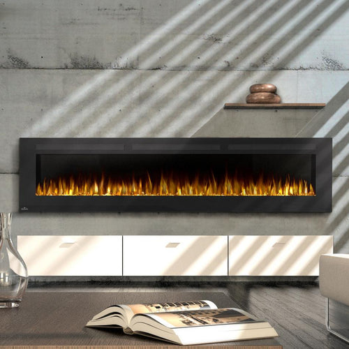 Napoleon Allure 100-Inch Linear Wall Mount Electric Fireplace - NEFL100FH