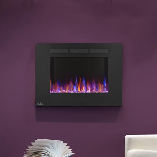 Napoleon Allure 32-Inch Wall Mount Electric Fireplace - NEFL32FH