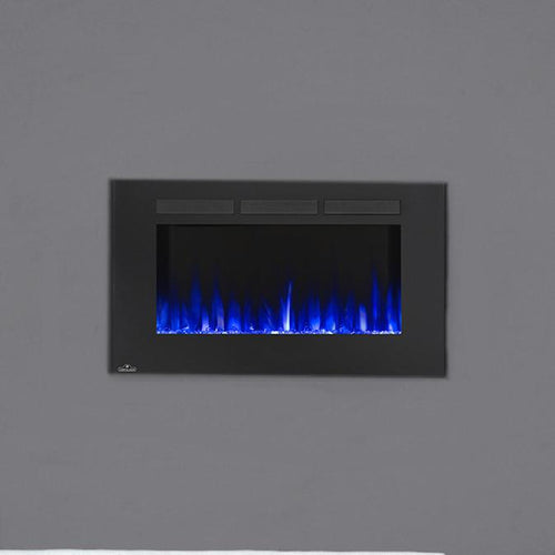 Napoleon Allure 42-Inch Linear Wall Mount Electric Fireplace - NEFL42FH