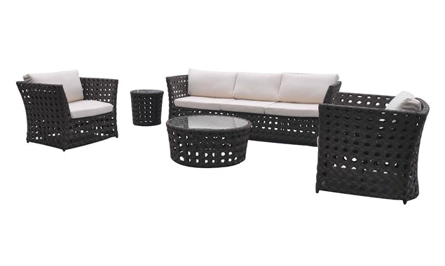 Open Sofa Set - Coffee Table Round Small