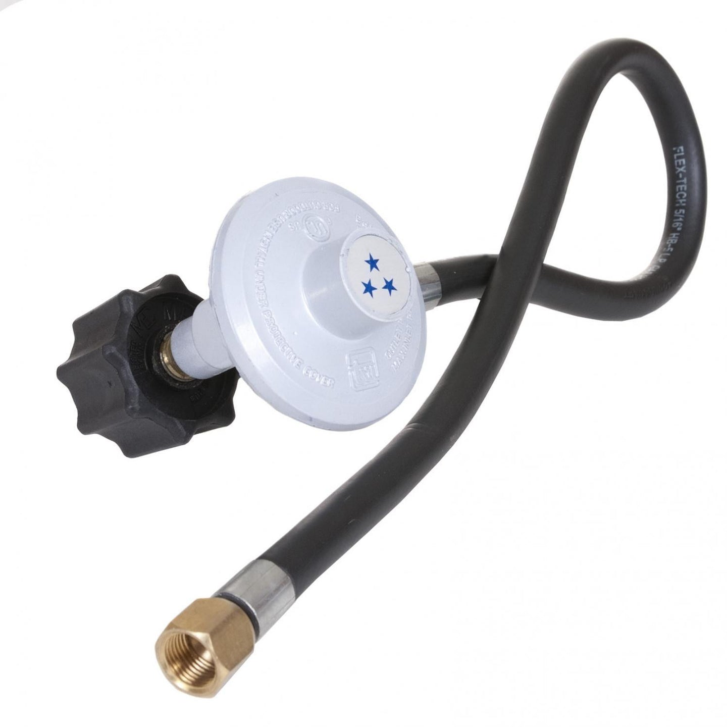 Blaze Propane Low Pressure Hose And Regulator With Connector - BLZ-ULV-LPKIT - The Garden District
