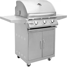 Summerset Sizzler 26-Inch 3-Burner Freestanding Gas Grill with Cart - SIZ26