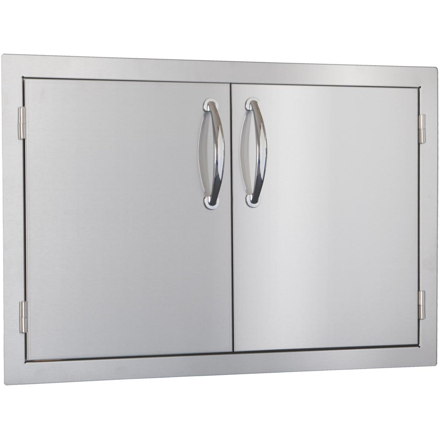 Summerset 30-Inch Stainless Steel Flush Mount Double Access Door - SSDD-30