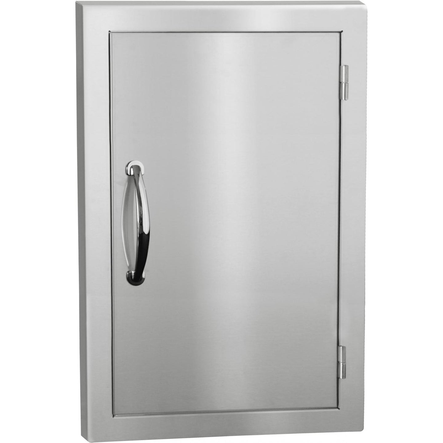 Summerset 17-Inch Stainless Steel Masonry Single Access Door - Vertical - SSDVL-M