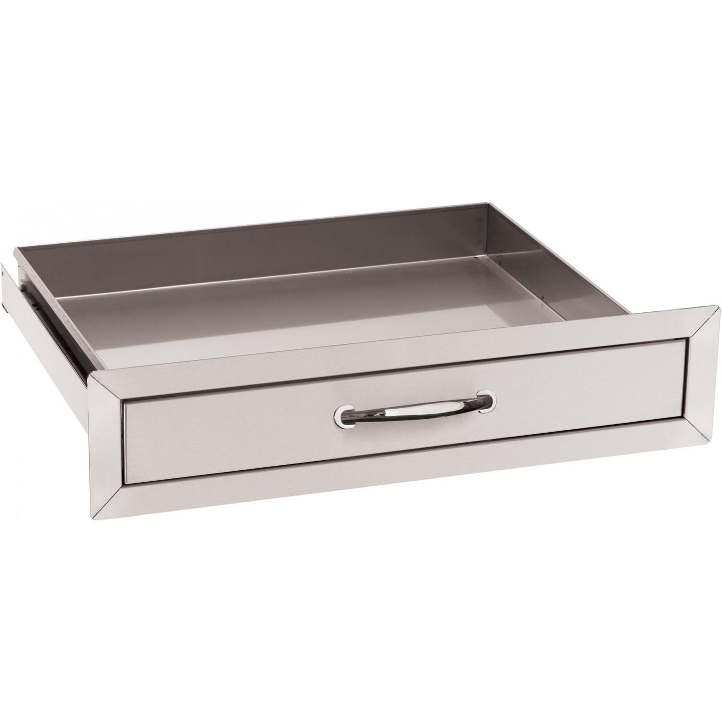 Summerset 24-Inch Stainless Steel Flush Mount Single Utility Drawer - SSUD