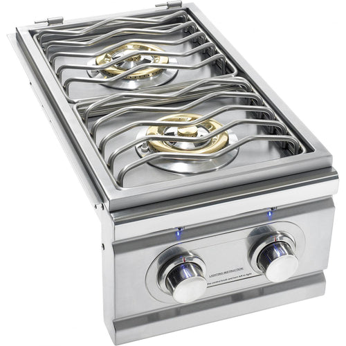 Summerset TRL Built-In Propane Gas Double Side Burner - TRLSB-2-LP