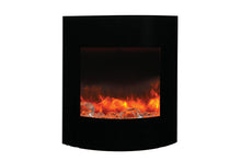 Amantii Zero Clearance 24 Inch Electric Fireplace - WM-BI-2428-VLR-BG- EMBER/ ICE