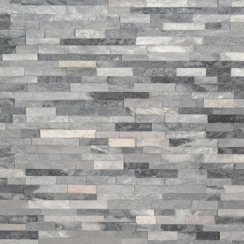 Alaska Gray Mini Stacked Stone Panels