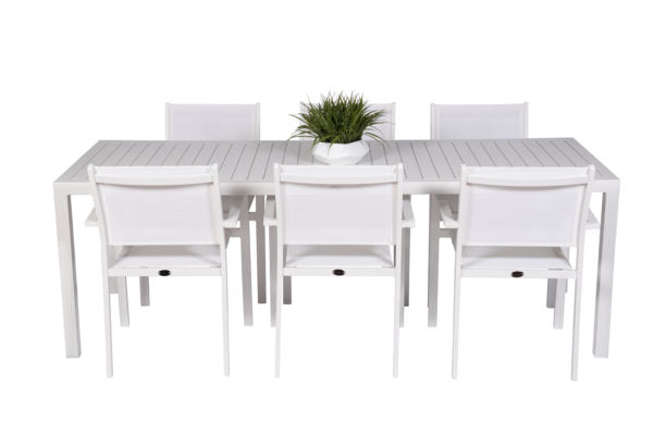 Alu Slat Dining Tables & Bar Table