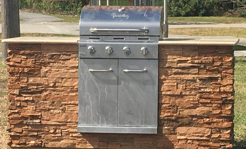 Outdoor Kitchen: Grill Starter Island