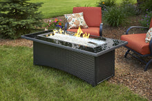 Outdoor Greatroom Montego Fire Pit Table - Black - 183-MG-1242-BLK-K