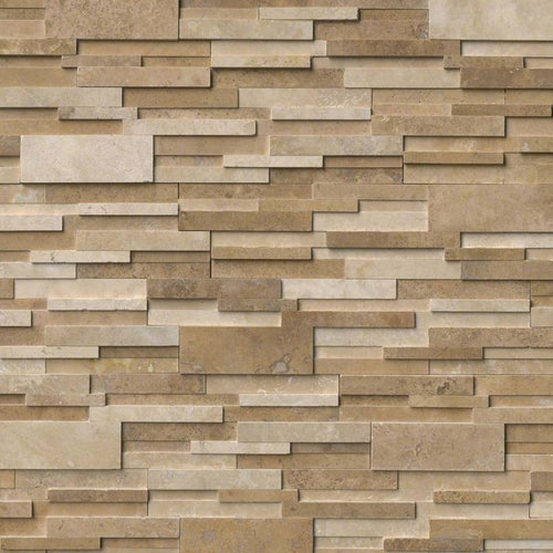 Casa Blend 3D Honed Stacked Stone Panels