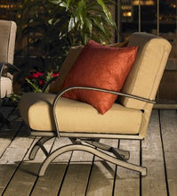 Outdoor Greatroom Tan Chat Rocker Chairs Set - CFP42-RCH