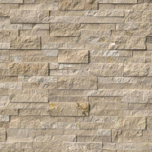 Durango Cream Splitface Stacked Stone Panels