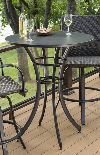 Outdoor Greatroom Empire Collection- Round Pub Table - EMPIRE-ROUND