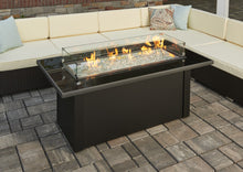 Outdoor Greatroom Monte Carlo Fire Pit Table - 183-MCR-1242-BLK-K